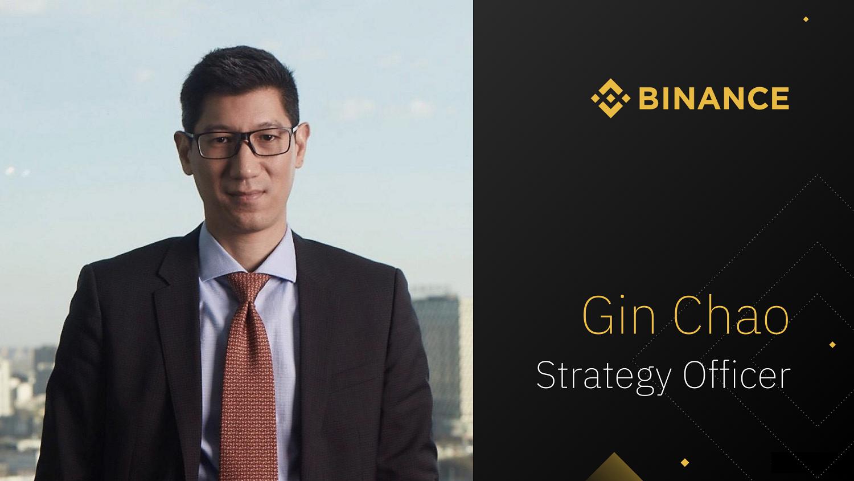 جین چائو، مسئول بخش استراتژی صرافی بایننس