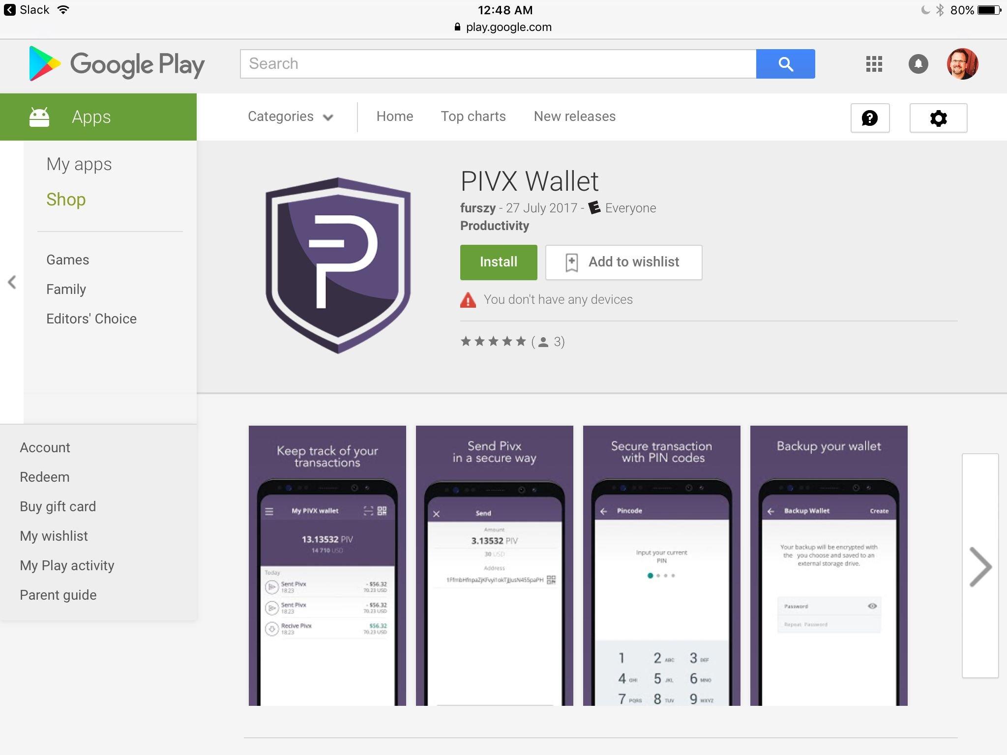 PIVX Wallet