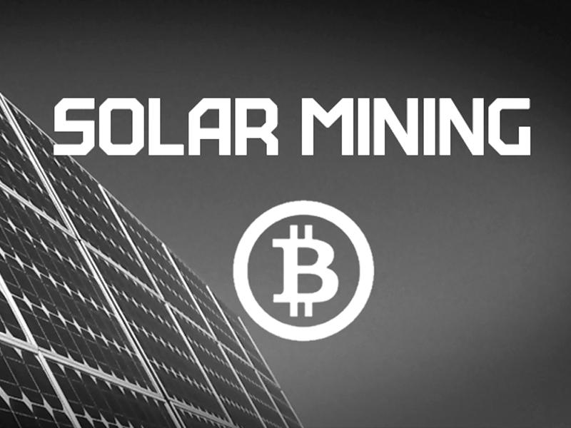 استخراج بیت کوین با انرژی خورشیدی آیا به صرفه است؟