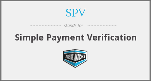 simplified payment verification