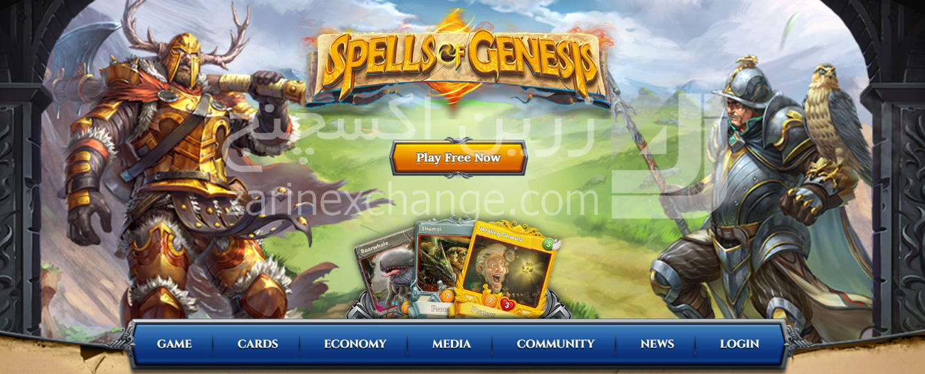 "بازی طلسم آفرینش ""Spells of Genesis"""