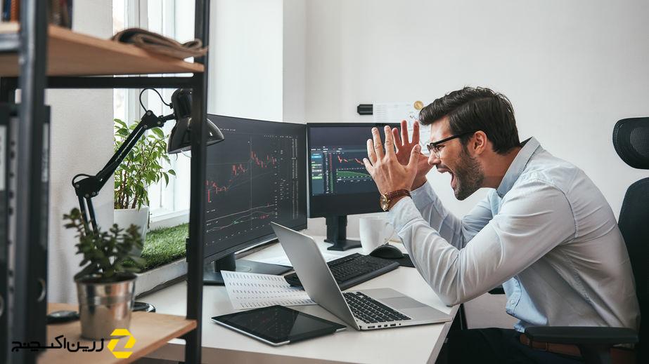 ۳ اشتباه معامله گران در هنگام افت قیمت